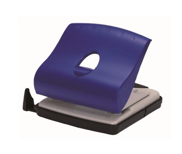OfficeForce Locher Wave 3, blau